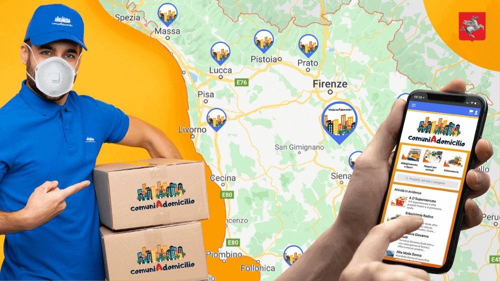 franchising-comuni-a-domicilio-regione-toscana-servizi-imprese-vendere-online-consegne-a-domicilio-coronavirus