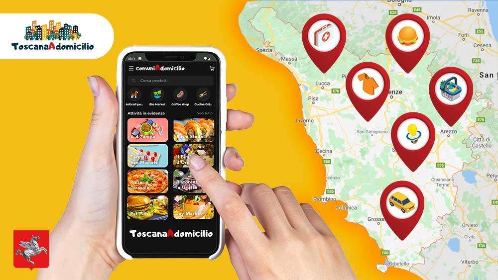 toscana-a-domicilio-comuniadomicilio-app-e-commerce-mobile-imprese-post-pandemia